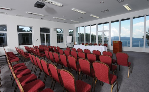 Panorama from the Szonáta conference room - Grandhotel Galya - Mátra