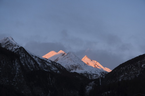 The Grossglockner in the Sunrise
