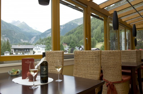 View from the Glocknerbar in the Summer - Hotel Heiligenblut