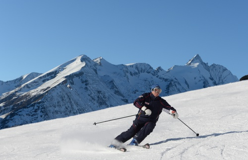 Skiing in the Grossglockner Heiligenblut ski region