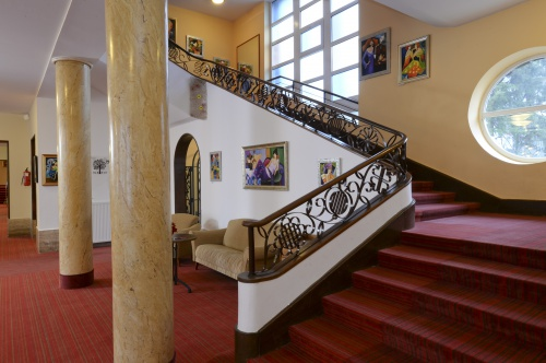 Staircase to our rooms - Grandhotel Galya - Mátra