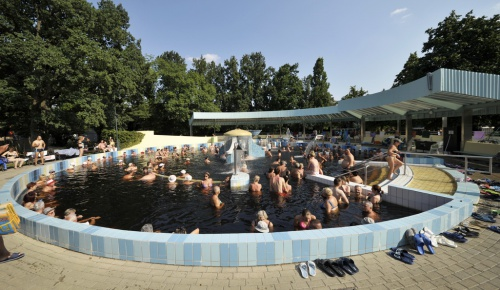 Gyula Castle Bath - Waterfall Pool - Hunguest Hotel Erkel - Gyula
