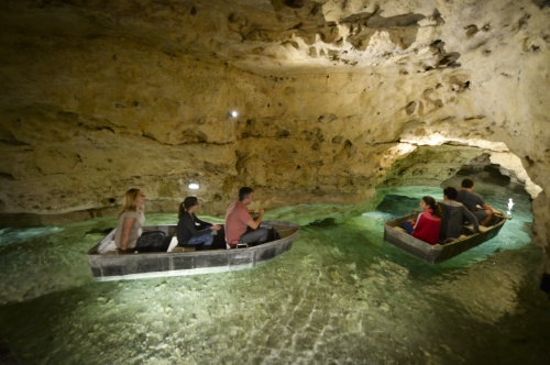 Boating in the Tapolca Spring Cave - Hunguest Hotel Pelion - Tapolca