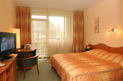 Double room with balcony - Hotel Flóra - Eger
