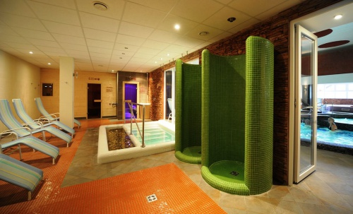 Wellness area – saunas, dipping pool - Hotel Flóra - Eger
