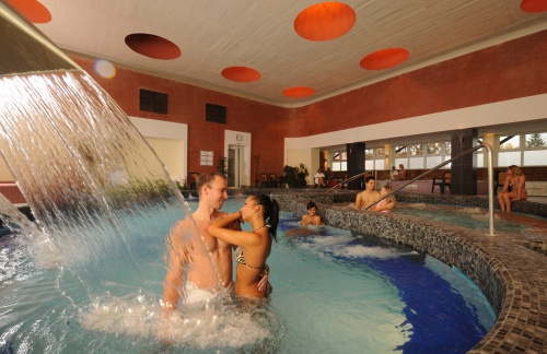 Wellness area – thermal pools - Hotel Flóra - Eger