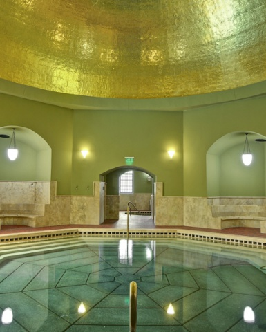 Turkish bath – golden dome - Hotel Flóra - Eger