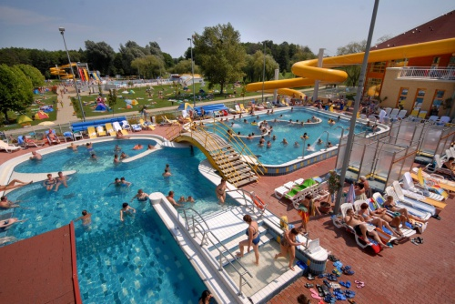 Outdoor adventure pools - Hotel Freya - Zalakaros