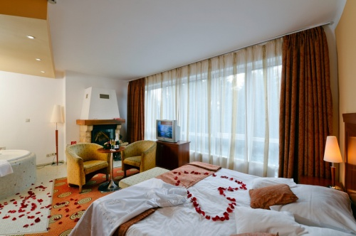 Deluxe room with fireplace and jacuzzi - Grandhotel Galya - Mátra
