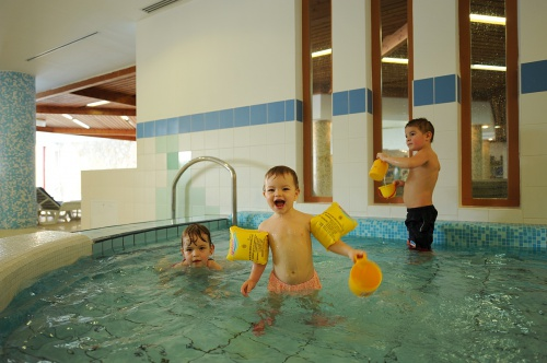 Swimming pool in the children's pool - Hunguest Hotel Pelion - Tapolca