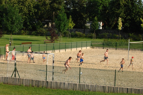 Beach soccer in the park - Hunguest Hotel Pelion - Tapolca