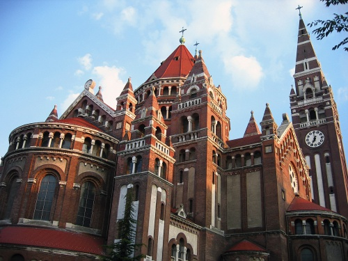 The Votive Church of Szeged