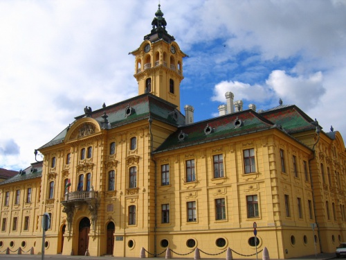 City Hall of Szeged