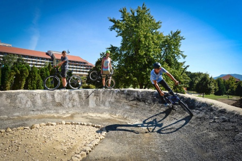 Cross-bike track - Hunguest Hotel Pelion - Tapolca