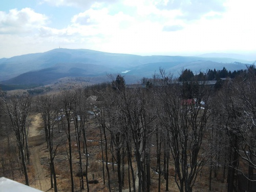 View from the lookout tower - Grandhotel Galya - Mátra