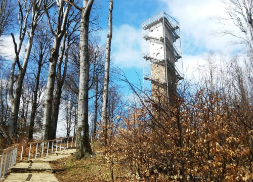 Lookout tower of Galyatető - Grandhotel Galya - Mátra