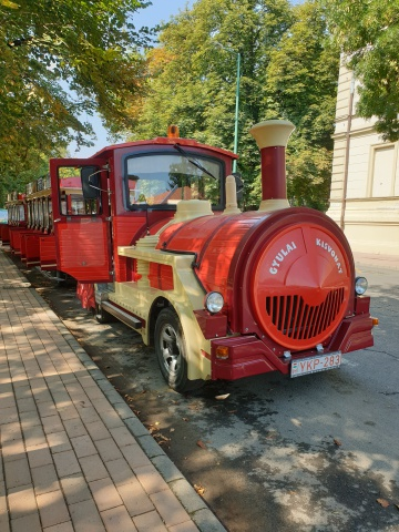 The little train of Gyula - Hunguest Hotel Erkel - Gyula