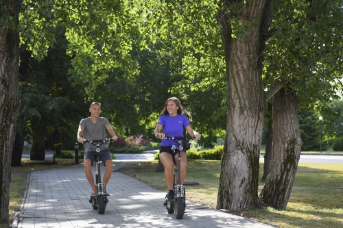 E-roller experience in the park - Hunguest Hotel Pelion - Tapolca