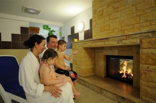 Warming up at Pelion Wellness - Hunguest Hotel Pelion - Tapolca