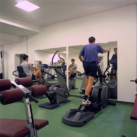 Relaxation in the fitness room - Hunguest Hotel Pelion - Tapolca
